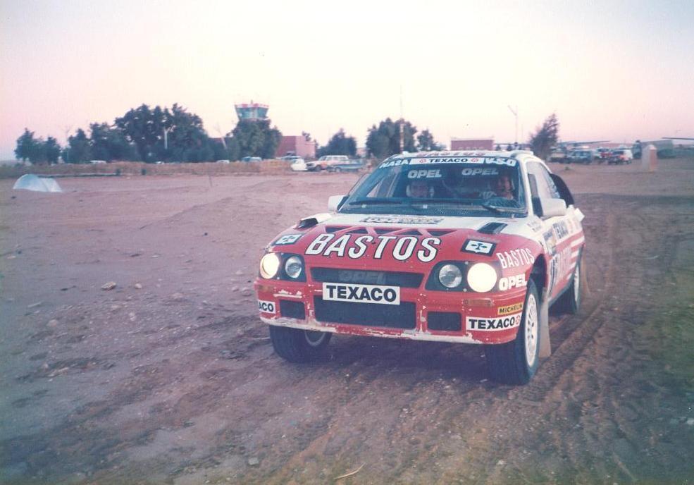 1986 Paris-Dakar Erwin Weber