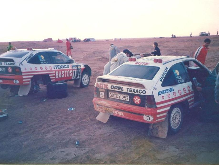 1986 Paris-Dakar restart