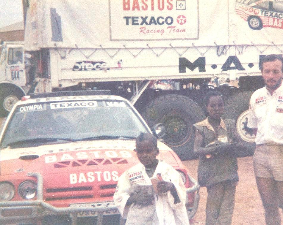 Paris-Dakar Manta 400