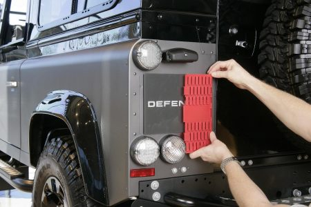 Measure number plate height