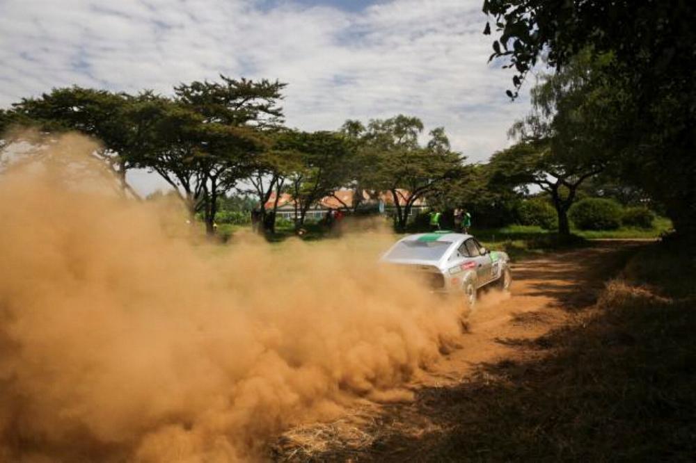 Geoff Bell Nakuru Rally
