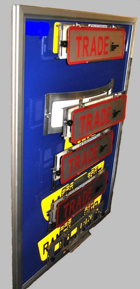 TPH-1 Trade Pro holder fitted to various plates