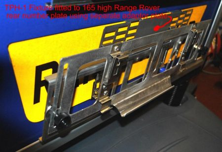 TPH-1 on Range Rover number plate