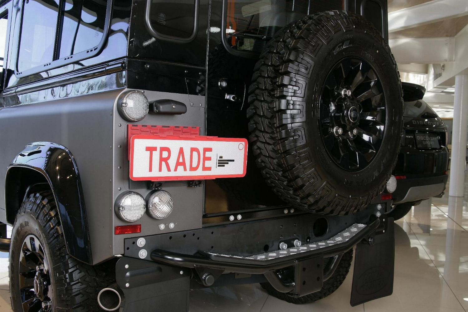 TPH-2 on Defender rear